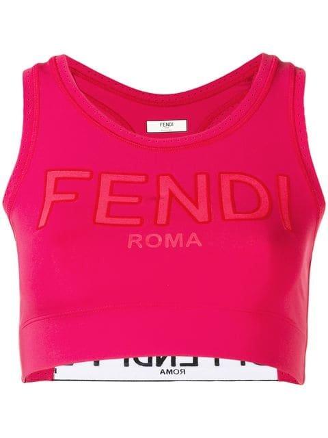 Fendi Fitted Sport Bra - Farfetch