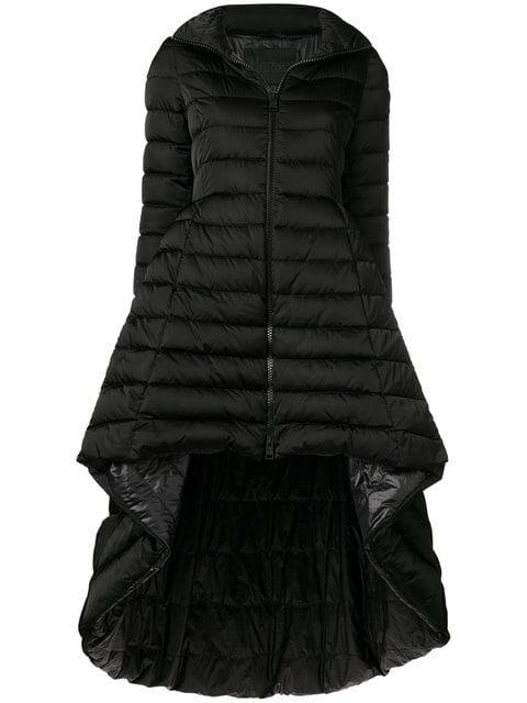Herno High Low Peplum Puffer Jacket  - Farfetch