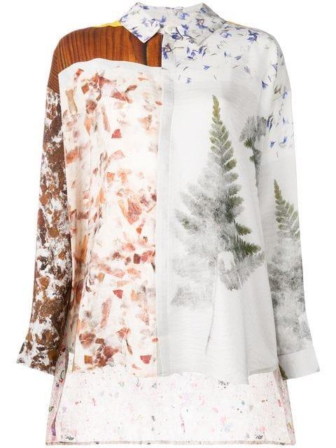 Anntian Floral Print Shirt  - Farfetch