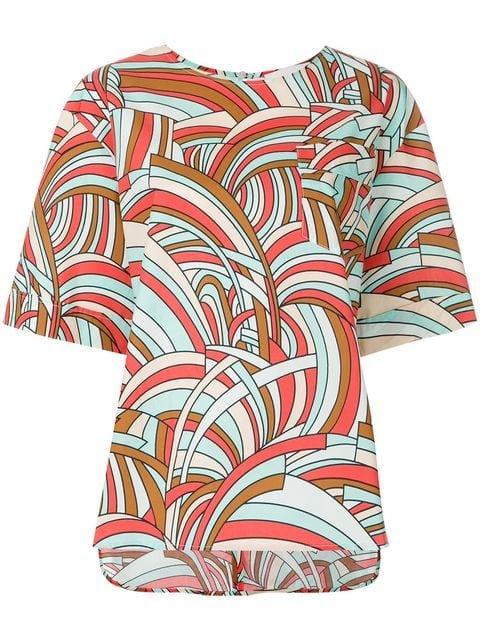 La Doublej Onde Boxy T-shirt  - Farfetch