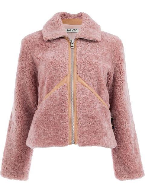 Aalto Shearling Zip-up Jacket - Farfetch