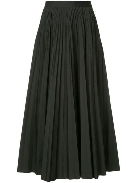 Maison Margiela Pleated Flared Skirt - Farfetch