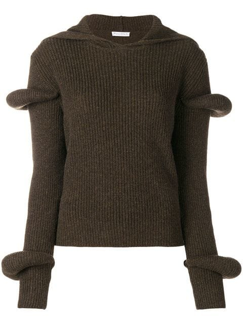 JW Anderson Knitted Voluminous Top - Farfetch