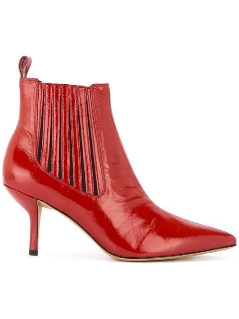 Dvf Diane Von Furstenberg Mollo Low-heel Booties - Farfetch