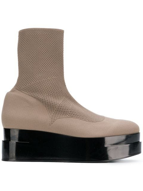 Clergerie Platform Ankle Boots - Farfetch