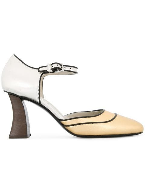 Marni D\'orsay Buckled Pumps - Farfetch