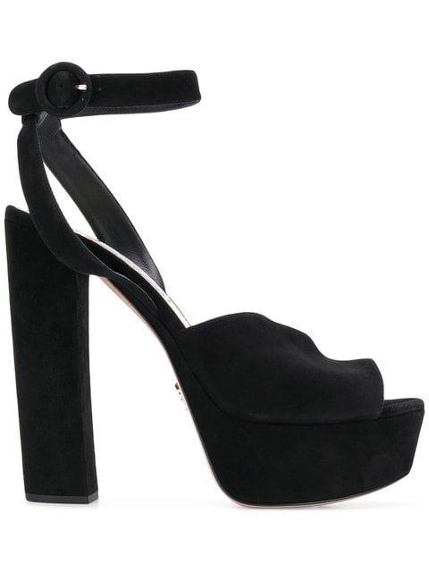 Prada Platform Ankle-strap Sandals - Farfetch