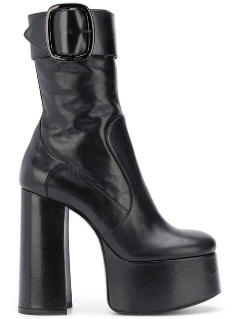 Saint Laurent Billy Platform Boots - Farfetch