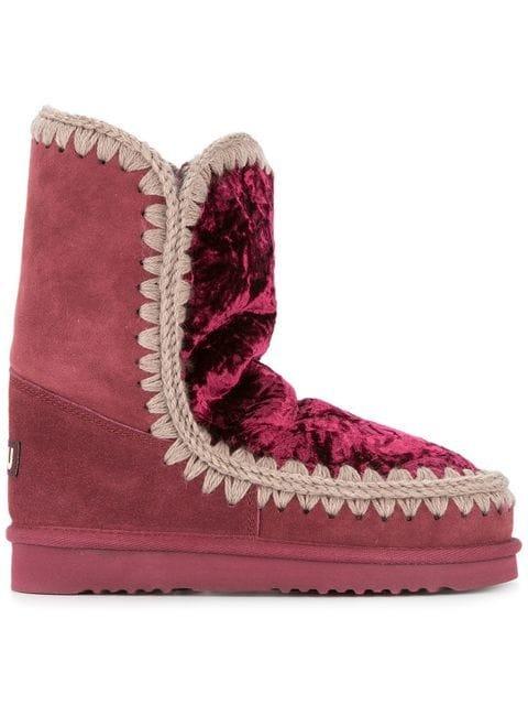 Mou Eskimo Shearling Lined Boots - Farfetch