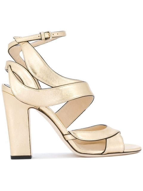 Jimmy Choo Falcon 100 Sandals - Farfetch