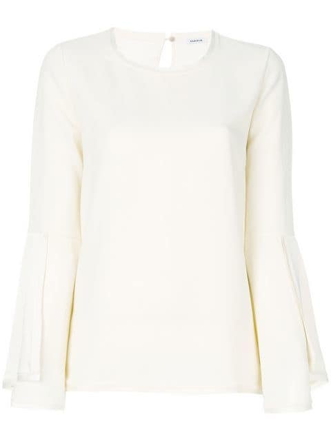 P.A.R.O.S.H. Stepped Sleeve Top - Farfetch
