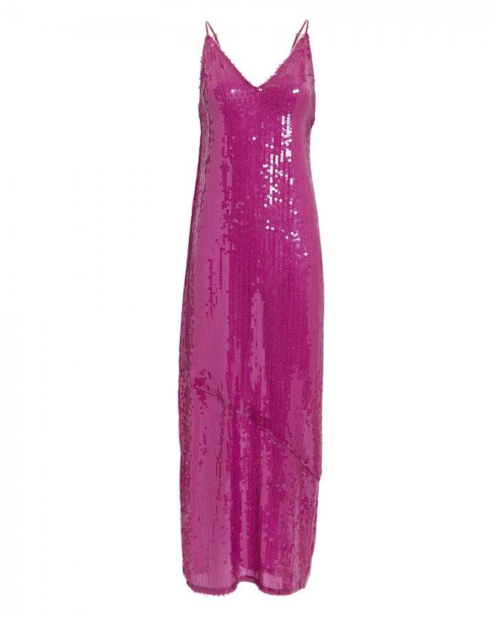 Sequin Slip Midi Dress