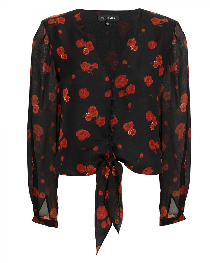 Bess Floral Top