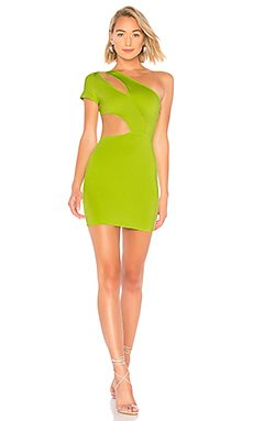 Letta Asymmetric Cut Out Bodycon                                             by the way.