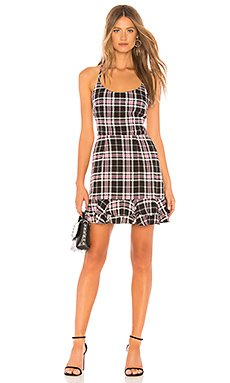 Mona Plaid Dress                                             About Us