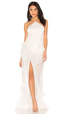 Fara Halter Maxi Dress                                             THE JETSET DIARIES