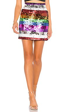 Meow Embellished Skirt                                             X by NBD
