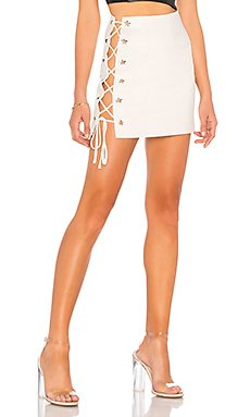 Silver Mini Skirt                                             h:ours