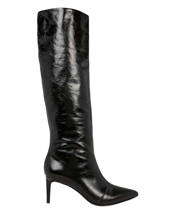 Beha Black Leather Boots