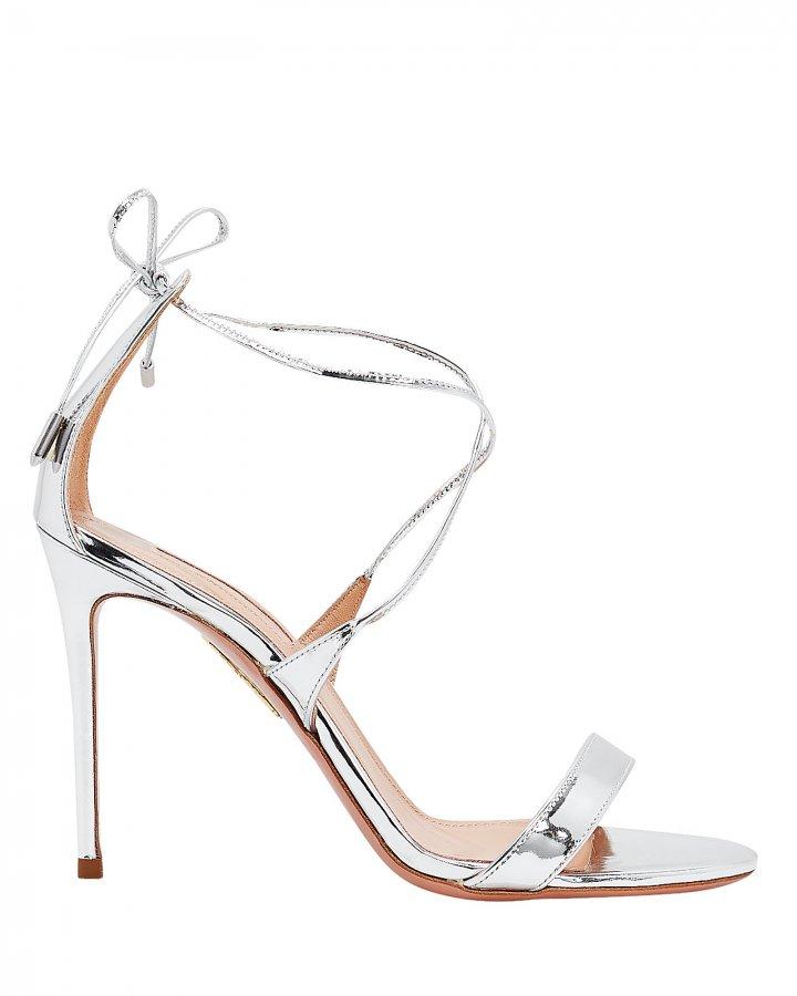 Linda Silver Sandals