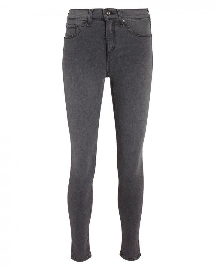 Grey Capri Jeans