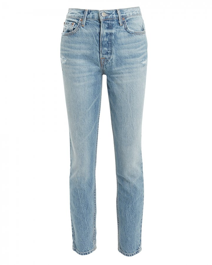 Karolina Light Cropped Jeans
