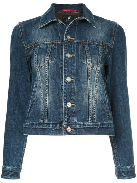 Loveless Denim Jacket - Farfetch