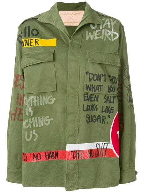 Night Market Boxy Military Jacket - Farfetch
