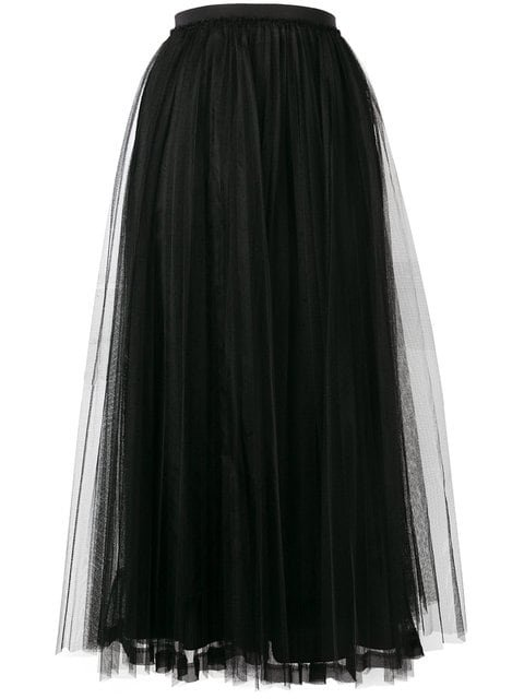 Red Valentino Full Layered Tulle Skirt - Farfetch