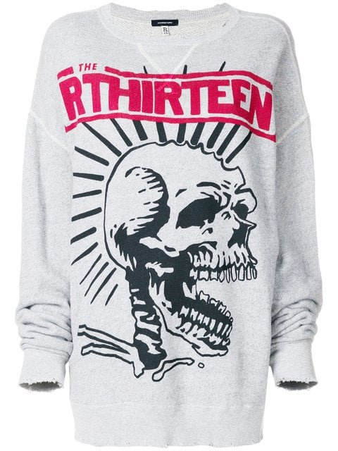 R13 Distressed Sweatshirt - Farfetch