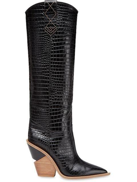 Fendi Cutwalk Cowboy Knee Boots - Farfetch