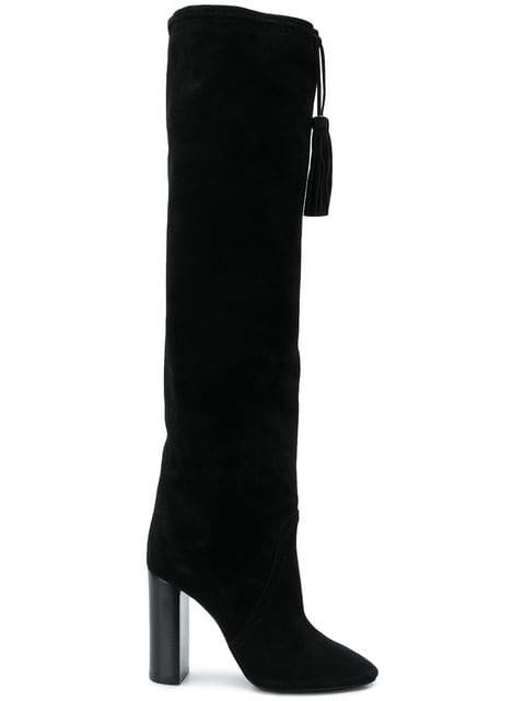 Saint Laurent Meurice Tasseled Boots - Farfetch