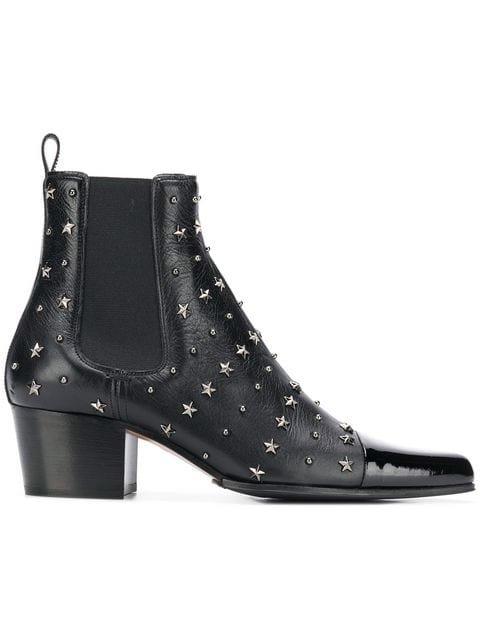 Balmain Studded Arthemisia Etoiles Boots - Farfetch