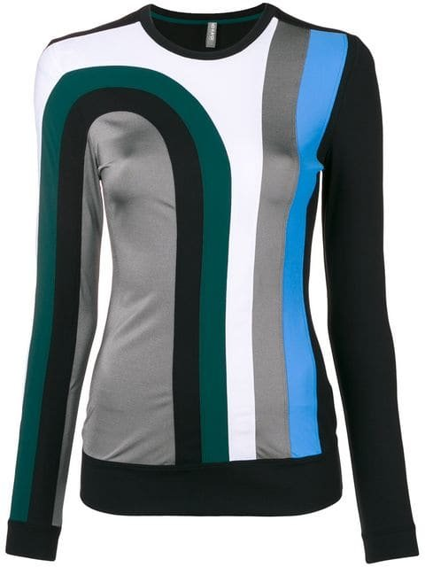 No Ka\' Oi Colour-block Fitted Top - Farfetch