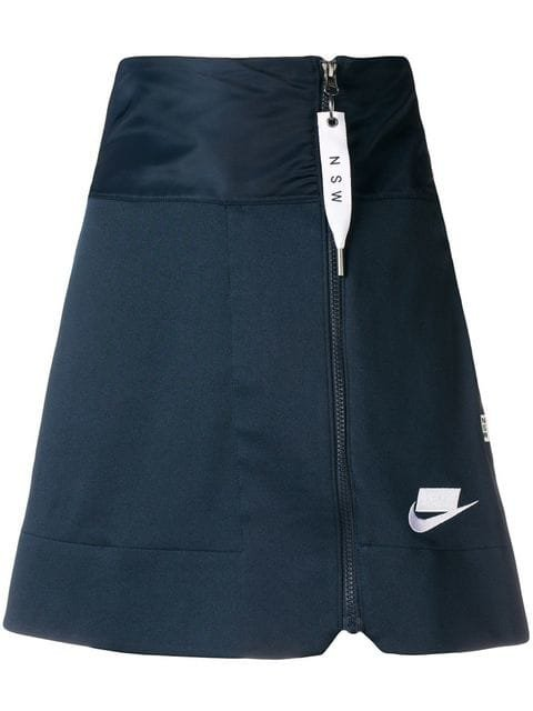 Nike High Waisted Zipper Skirt - Farfetch