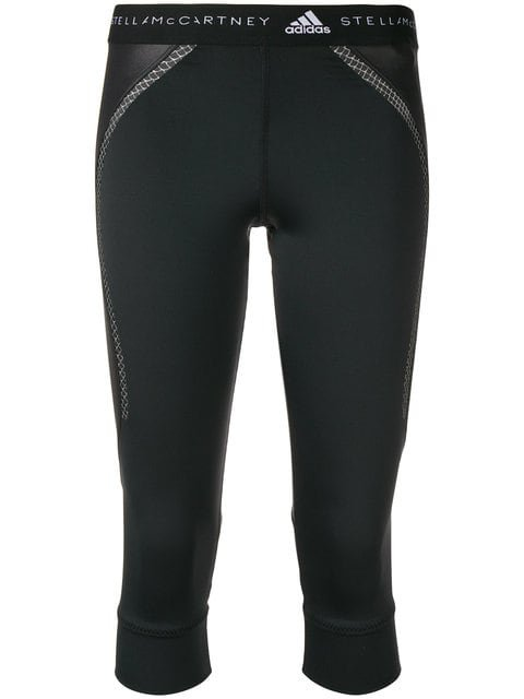 Adidas By Stella Mccartney Running 3/4 Leggings - Farfetch