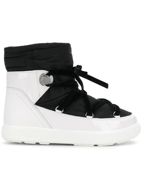 Moncler Platform Snow Boots - Farfetch