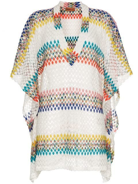 Missoni Zig Zag v Neck Kaftan - Farfetch