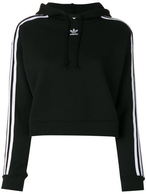 Adidas Adidas Originals Cropped Hoodie - Farfetch