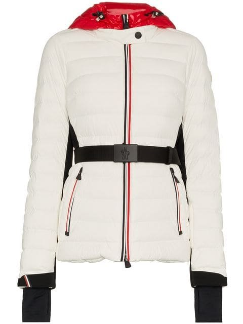 Moncler Grenoble Bruche Belted Padded Jacket - Farfetch