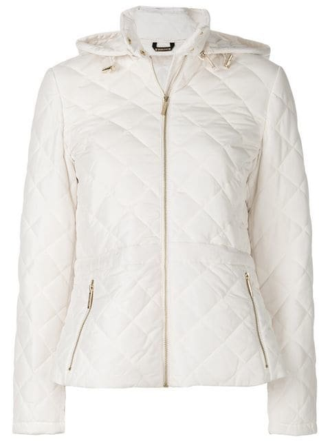 Michael Michael Kors Quilted Peplum Jacket - Farfetch