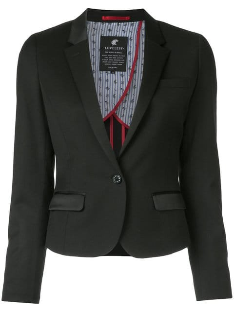 Loveless Cropped Fitted Blazer  - Farfetch