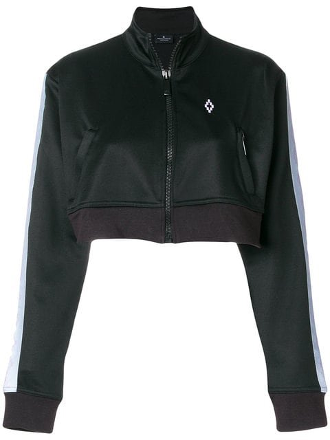 Marcelo Burlon County Of Milan Cross Tape Bomber Jacket - Farfetch