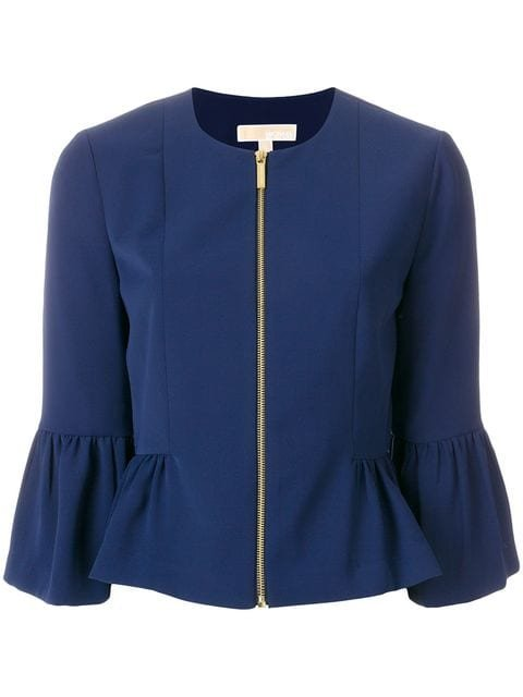 Michael Michael Kors Flared Cuff Jacket - Farfetch