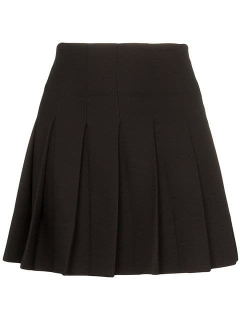 George Keburia Pleated Mini Skirt - Farfetch