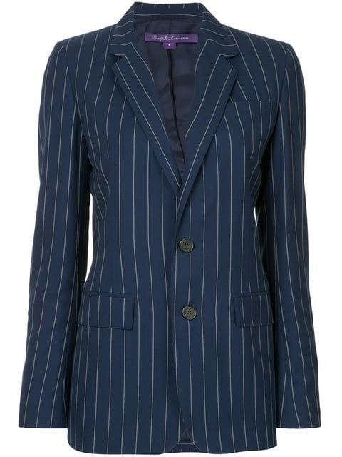 Ralph Lauren Collection Striped Blazer - Farfetch