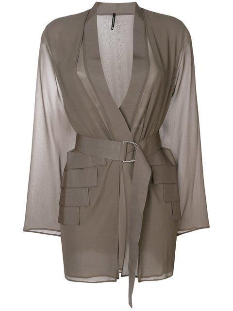 Pierantoniogaspari Belted Jacket  - Farfetch