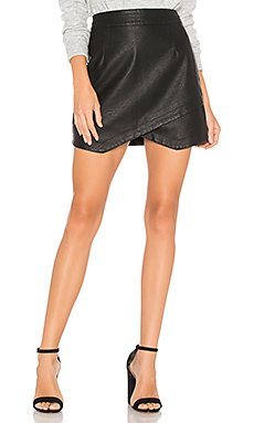 JACK by BB Dakota Angeline Faux Leather Skirt                                             BB Dakota
