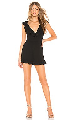 Desiree Ruffle Top Edge Romper                                             by the way.