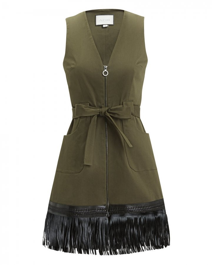 Lottie Fringe Hem Dress